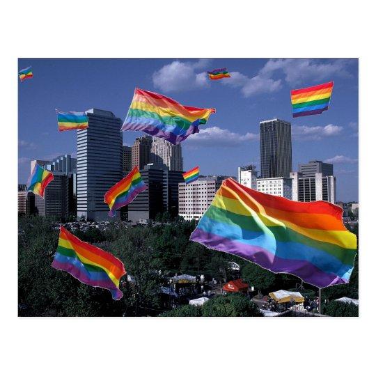 Oklahoma City Flying Pride Postcard