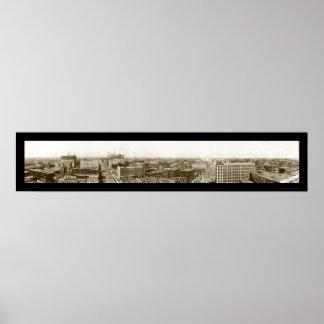 Oklahoma City, foto ACEPTABLE 1910 Posters