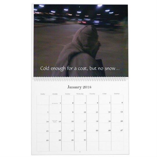 Oklahoma City In A Year Calendar