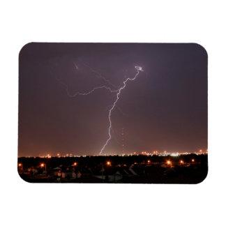 Oklahoma City Lightning Photo Magnet