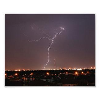 Oklahoma City Lightning Photo Print