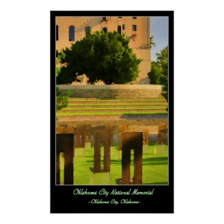Oklahoma City National Memorial Poster