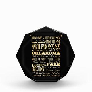 Oklahoma City of Oklahoma State Typography Art Awards