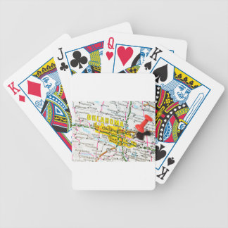 Oklahoma City, Oklahoma Bicycle Playing Cards