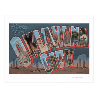 Oklahoma City, Oklahoma (campos petrolíferos) Postales