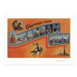 Oklahoma City, Oklahoma - escenas grandes de la le Tarjetas Postales