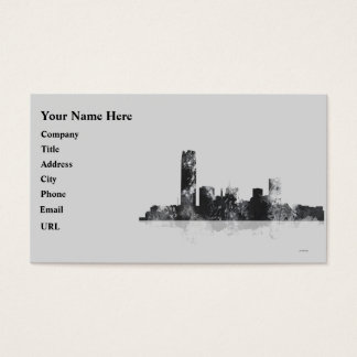 OKLAHOMA CITY, OKLAHOMA SKYLINE BUSINESS CARD