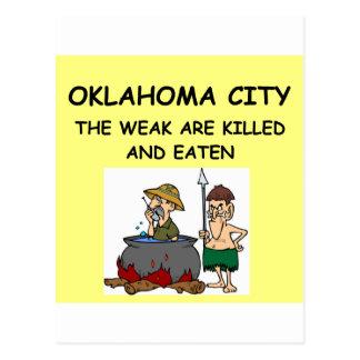 OKLAHOMA city Postcards