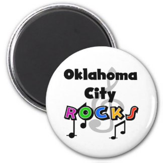 Oklahoma City Rocks Magnet