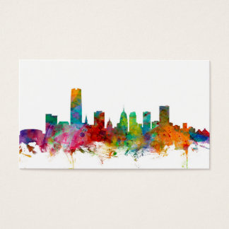 Oklahoma City Skyline Business Card