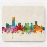 Oklahoma City Skyline Cityscape Mouse Mat