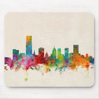 Oklahoma City Skyline Cityscape Mouse Pad