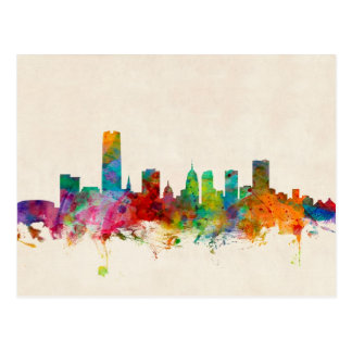 Oklahoma City Skyline Cityscape Postcard