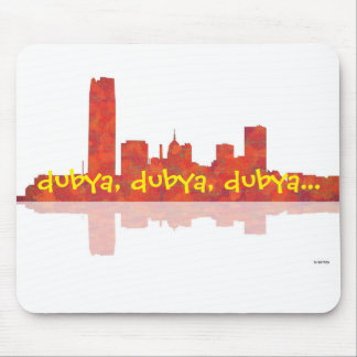 OKLAHOMA CITY SKYLINE - Mouse Pad