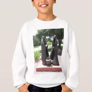 oklahoma city statues sweatshirt