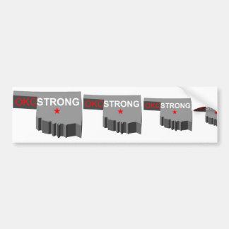 Oklahoma City Strong Bumper Sticker