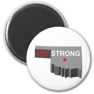 Oklahoma City Strong Refrigerator Magnet