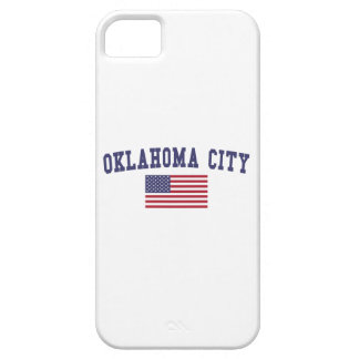 Oklahoma City US Flag iPhone SE/5/5s Case