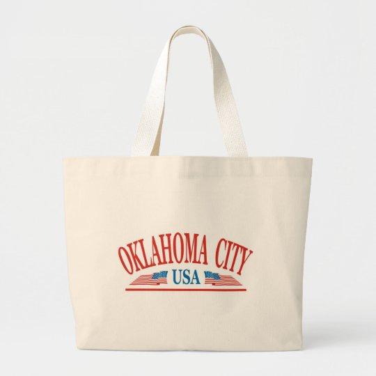 Oklahoma City USA Large Tote Bag