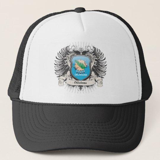 Oklahoma Crest Trucker Hat