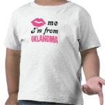 Oklahoma divertida camiseta