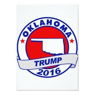 """Oklahoma Donald Trump 2016.png Invitación 5"""" X 7"""""""