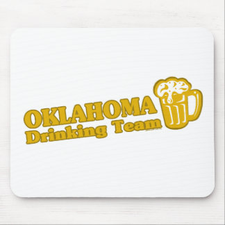 Oklahoma Drinking Team t shirts Mousepads