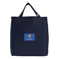 Oklahoma Embroidered Tote Bag