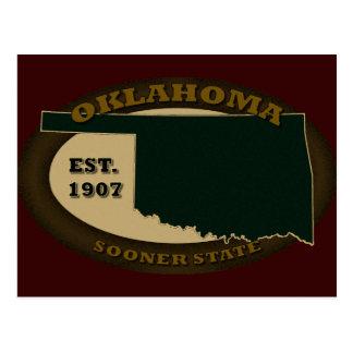 Oklahoma Est. 1907 Postal