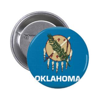 Oklahoma Flag Buttons