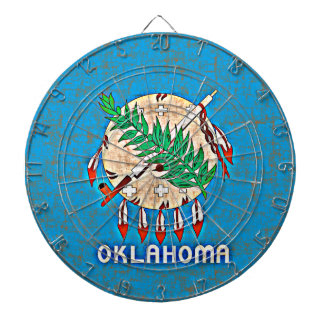 OKLAHOMA FLAG DARTBOARDS