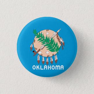 OKLAHOMA Flag Design - Button