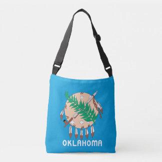 OKLAHOMA Flag Design - Crossbody Bag