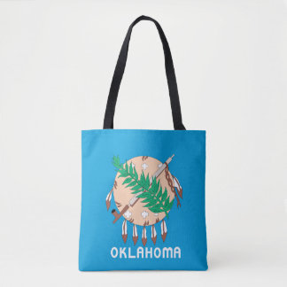OKLAHOMA Flag Design - Tote Bag