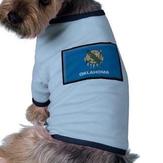 Oklahoma Flag Dog T Shirt