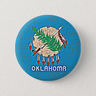 OKLAHOMA FLAG PINBACK BUTTON