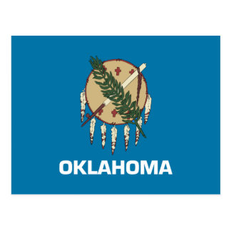Oklahoma Flag Postcard
