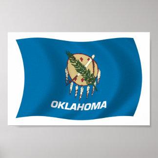 Oklahoma Flag Poster Print