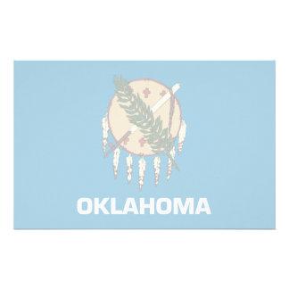Oklahoma Flag Stationery Design