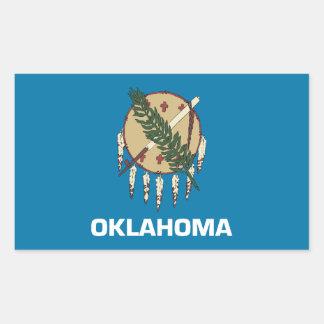 Oklahoma Flag Sticker
