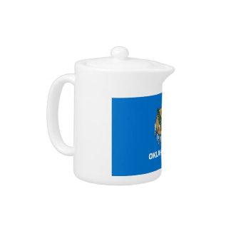 Oklahoma Flag Teapot