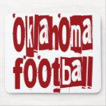 Oklahoma Football Mouse Pads