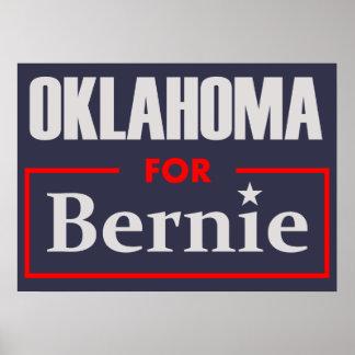 Oklahoma for Bernie Poster