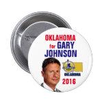 Oklahoma for Gary Johnson Button