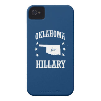 OKLAHOMA FOR HILLARY Case-Mate iPhone 4 CASE