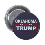 Oklahoma for Trump Pinback Button