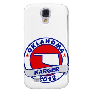 Oklahoma Fred Karger Samsung Galaxy S4 Case