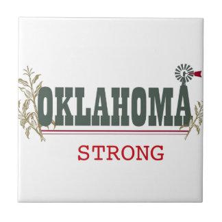 Oklahoma fuerte azulejo cuadrado pequeño