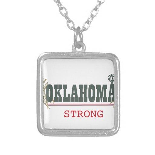 Oklahoma fuerte colgante cuadrado