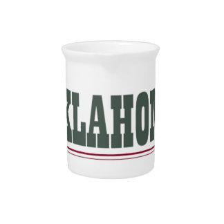 Oklahoma fuerte jarras de beber